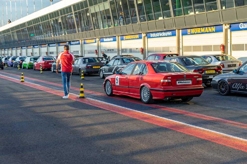 race-sensation circuit arrangementen