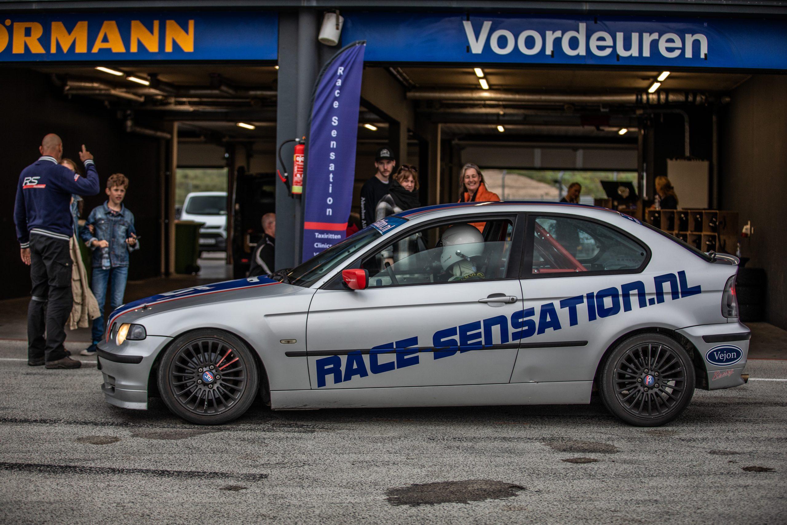 race sensation circuit instructeur
